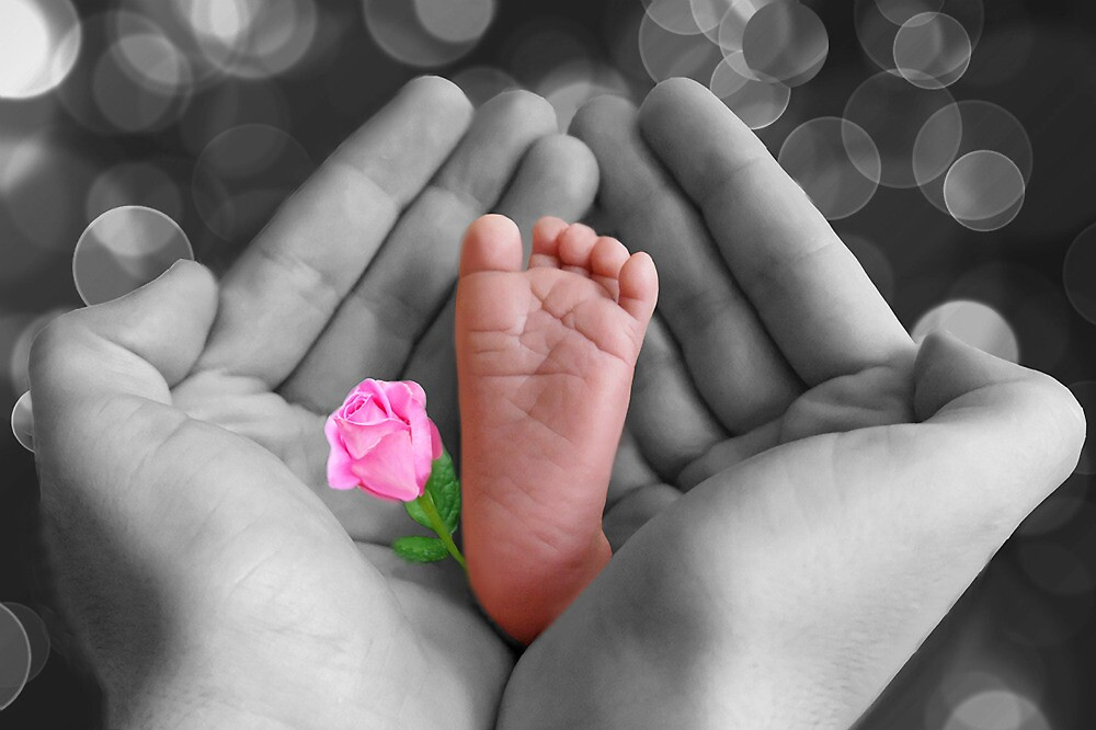 *•.¸♥♥¸.•* PRECIOUS BABY'S FOOT I HOLD IN LOVE*•.¸♥♥¸.•* by ✿✿ Bonita ✿✿ ђєℓℓσ