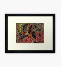 Images full of sarcasm Framed Print