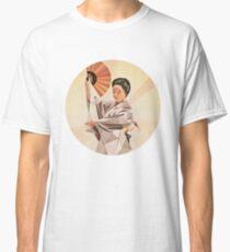 polygonal japanese dancer Classic T-Shirt