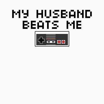 My Husband Beats Me (Dark Text) by CVIII