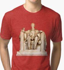 Lincoln's cupcake Tri-blend T-Shirt