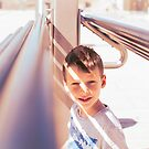 Child Portrait - Summer Onslaught by Patrick Metzdorf