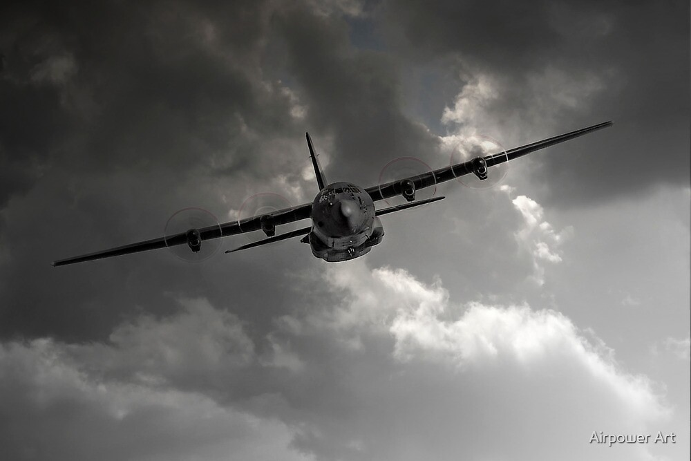 RAF C-130 Transport by Airpower Art