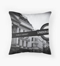 Underground Throw Pillow