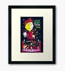 Charlie Christmas Framed Print