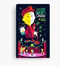 Charlie Christmas Canvas Print