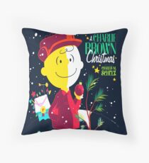 Charlie Christmas Throw Pillow
