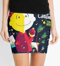 Charlie Christmas Mini Skirt