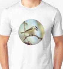 shy chickadee Unisex T-Shirt