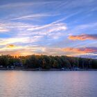 Dusk Over Smith Mountain Lake by RedskinzFan