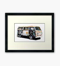 Hippie Van Framed Print