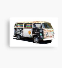 Hippie Van Canvas Print