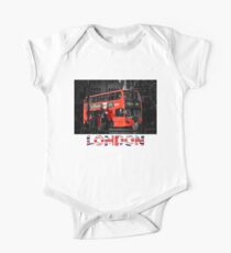 London Bus One Piece - Short Sleeve
