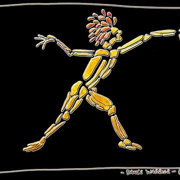 Dance Warrior REACHING FAR by JimmyGlenn