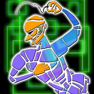 Dance Warrior XV BEAD DANCER by JimmyGlenn