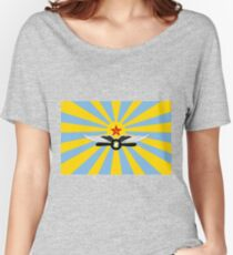 Flag of the Soviet Air Force Women's Relaxed Fit T-Shirt