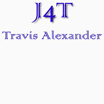 J4T with Name in Blue Lettering by msg4jr