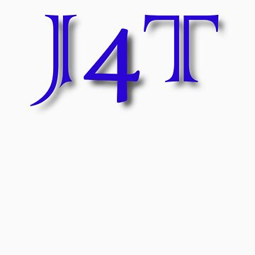 J4T in Blue Lettering by msg4jr