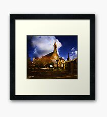 Had To Be A Derry Painting, Right? Framed Print