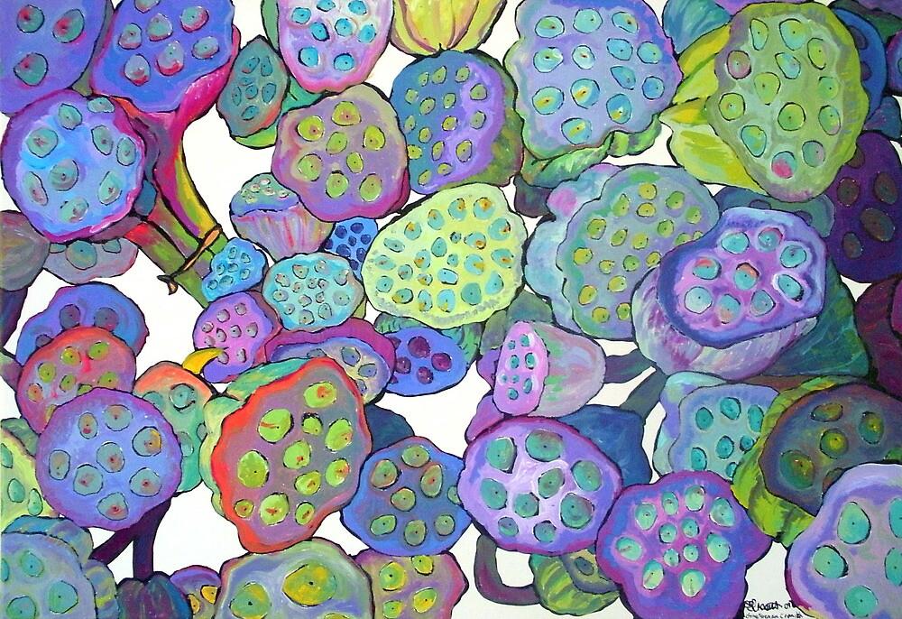 Bulbous Blossoms by chrissyforemanc