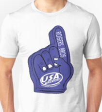usa warriors foam hand by rogers bros T-Shirt