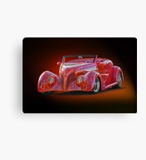 1938 Ford Cabriolet ... A sizzling affair ! Canvas Print
