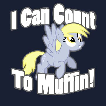 Derpy - I Can Count To muffin by Obisam