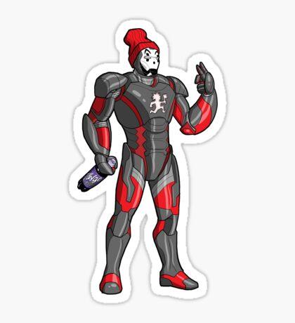 Iron Juggalo Sticker