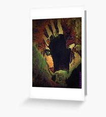 THE WITCH...sometimes they come back !! Greeting Card