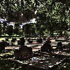 Kikas cemetery tombs by Madsen1981