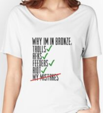 Why Im In Bronze Women's Relaxed Fit T-Shirt