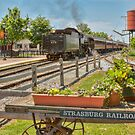 Strasburg Train by Marilyn Cornwell
