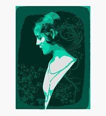 Green Lady Photographic Print