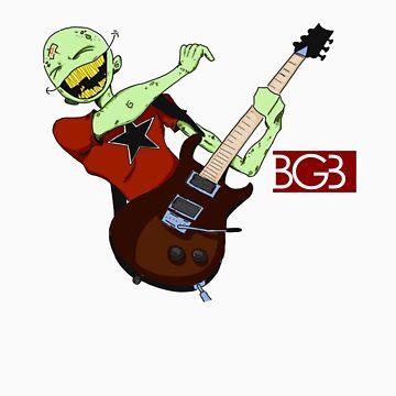 Zombie Gotta Jam by billgaffney