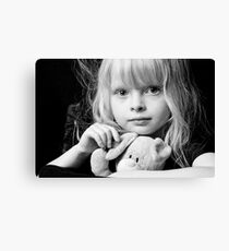 PRINCESSES MAGIC RABBIT. 3 Canvas Print