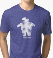 Gozer is Coming Tri-blend T-Shirt