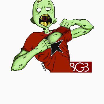 Zombie Gotta Rage by billgaffney