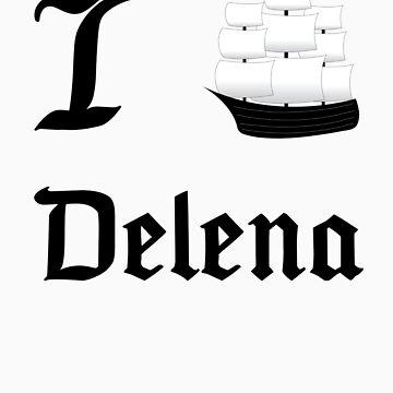 I Ship Delena by SpiffyByDesign
