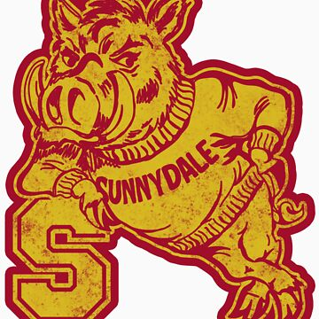 Sunnydale High - Sticker by CatchABrick