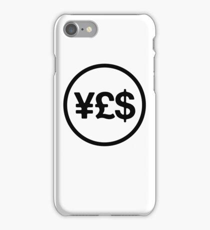 pbbyc - ¥£$ aka Money Talks iPhone Case/Skin