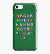 pbbyc - Typograbet iPhone Case/Skin