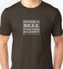 Invisible Bear Fighting Academy T-Shirt