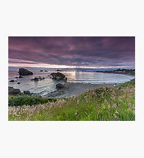Sunset Crescent City Photographic Print
