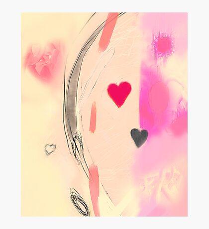 Corner of the heart Photographic Print