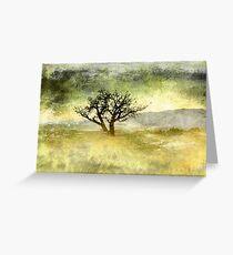 Tree at Dusk in Waikoloa 3 Greeting Card