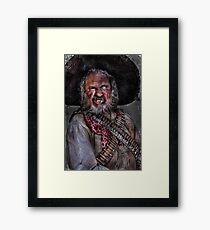 The Bandito Framed Print