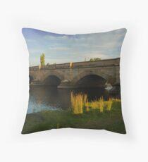 Ross Bridge Tasmania Throw Pillow