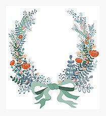 Wreath Photographic Print