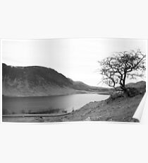 Crummock Water, Lake District National Park Poster