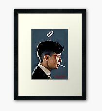 Peaky Blinders - clean background Framed Print